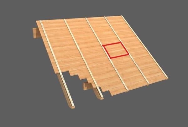 Como sacar machimbre del centro del techo carpinter a - Como se hace una casa de madera ...