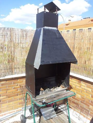 Problemas con chimenea barbacoa revoca el humo o no llega - Como hacer chimeneas de obra ...