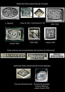 Cubiertos de plata de 1840 antig edades for Cubiertos de plata precio