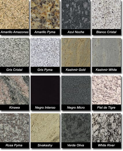Qu color de cocina y encimera va con pared con azulejos - Encimeras de granito colores ...