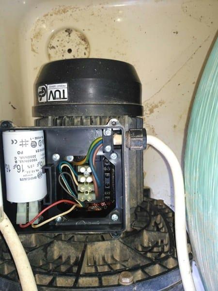 Motor depuradora arranca y para reiteradamente piscinas for Motor piscina 0 5 cv