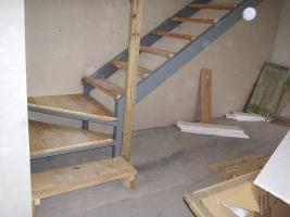 Como hacer escaleras de hierro