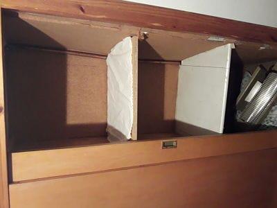 Como forrar interior armario irregular carpinter a - Forrar interior armario ...