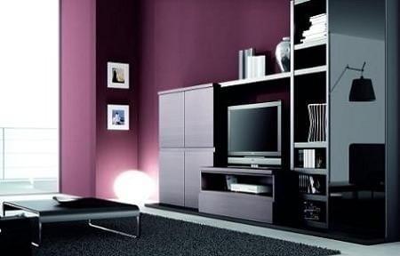 Combinar muebles color cerezo cool muebles de color - Combinar muebles en color cerezo y blanco ...