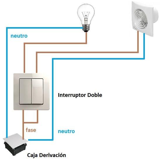 Como poner un interruptor a un extractor de aire para ser - Colocar extractor bano ...