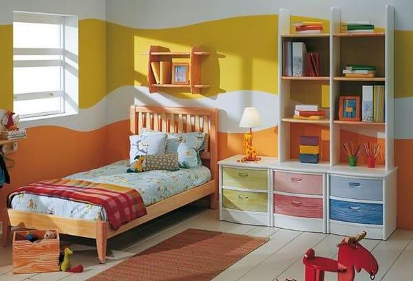 Pintar ondas en paredes pintura - Pintura dormitorios infantiles ...