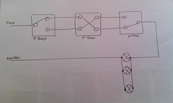 Como instalar un minutero de escalera electricidad del - Como conectar un sensor de movimiento de tres cables ...