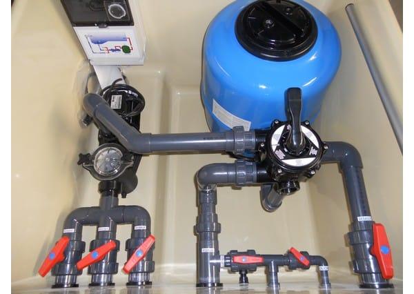 Cuando filtro la piscina apago la bomba me sale agua por for Piscinas desmontables pequenas con depuradora
