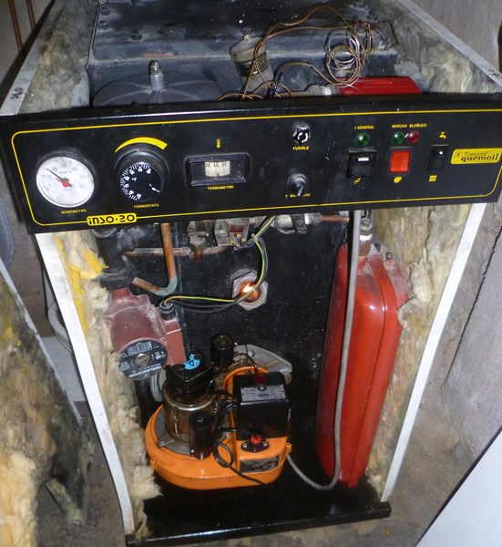 Caldera quemoil inso20 poco caudal y presi n agua caliente - Caldera no calienta agua si calefaccion ...