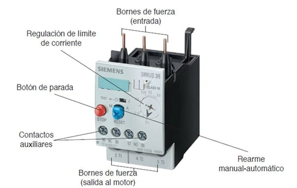 Como revisar rel t rmico de sobrecarga regulado a 16 a 24 - Que es un emisor termico ...