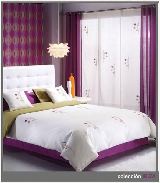 Color de colcha y cortinas para habitaci n decoraci n - Colchas y cortinas modernas ...