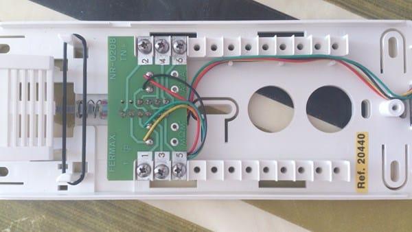 Conectar portero autom tico a videoportero ya existente for Cables telefonillo colores