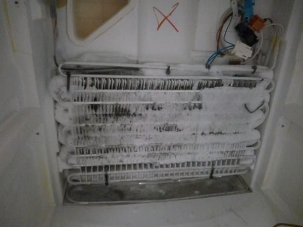 Frigo fagor no frost no enfr a parte de arriba for Temperatura frigo da 1 a 7