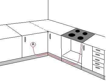 Instalar tubo de gas largo cocina - Fogones de butano ...