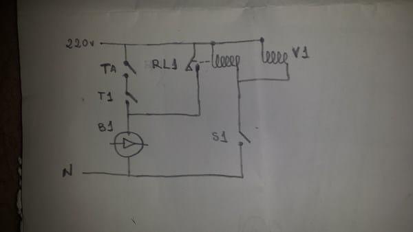 Esquema el ctrico de 2 termostatos a una caldera calefacci n y aire acondicionado - Temperatura ideal calefaccion casa ...