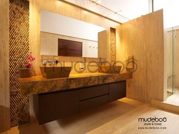 De qu color combinan los mueble de ba o con el m rmol for Muebles de bano con encimera