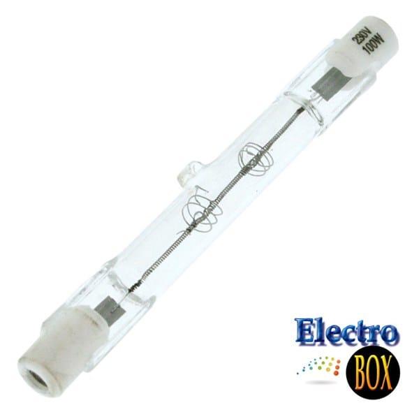 Plaf n con bombilla hal gena lineal electricidad del for Tipos de bombillas led para casa