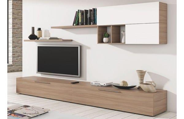 Qu mobiliario puedo poner en sal n decoraci n for Muebles oscuros paredes claras