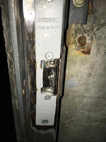 Mi cerradura electrica no funciona