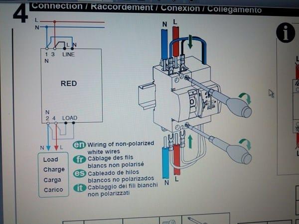 Cableado diferencial rearmable schneider electricidad for Diferencial rearme automatico