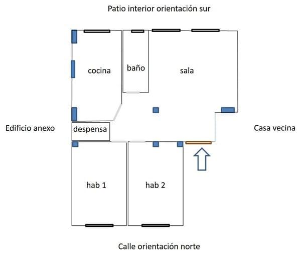 Ventanas aislantes ruido y temperatura suelo e - Instalacion calefaccion radiadores ...