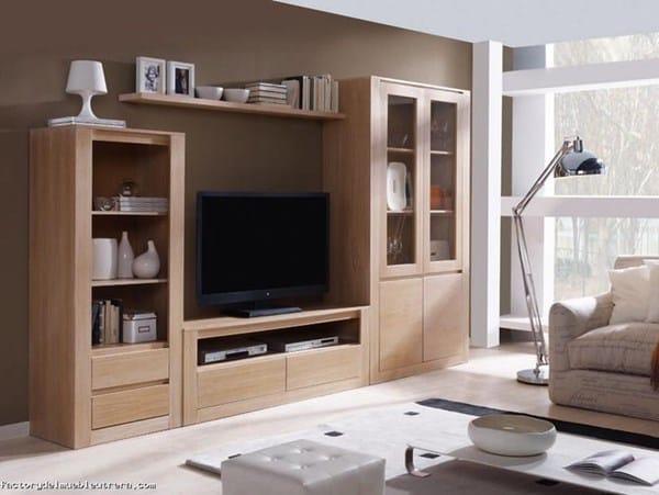 C mo pintar paredes sal n con muebles claros - Muebles para el salon ...