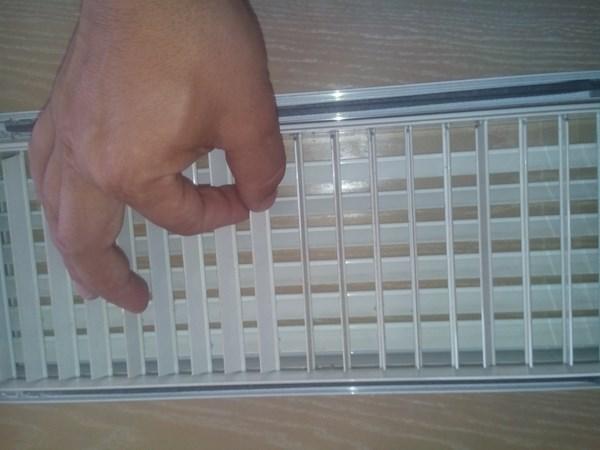 La instalaci n de aacc de mi vivienda tiene un solo for Rejillas aire acondicionado regulables