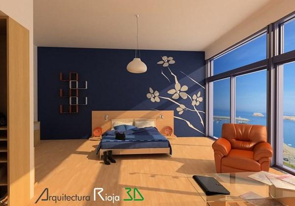 Pintar pared de habitaci n matrimonio decoraci n - Pintar habitacion matrimonio ...