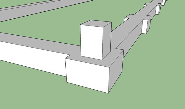 Cimientos Para Caseta De Madera Alba Iler A