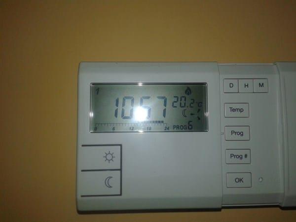 Cambie programa en termostato y mi caldera ahora no se for Caldera se apaga y enciende constantemente