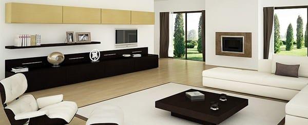 Combinar tarima iruko con muebles decoraci n for Color salon muebles oscuros