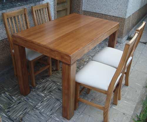 Instalaci n de pata de mesa madera tipo asia - Patas de mesa de madera ...
