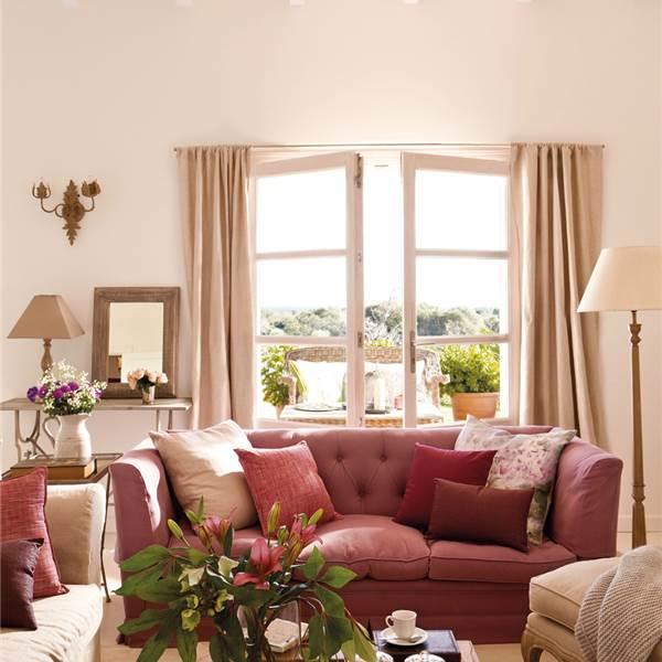 Qu color de pared y cortinas puedo usar arquitectura - Cortinas marron chocolate ...