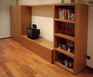 M s opiniones para combinar tarima y puertas decoraci n - Muebles color cerezo como pintar paredes ...