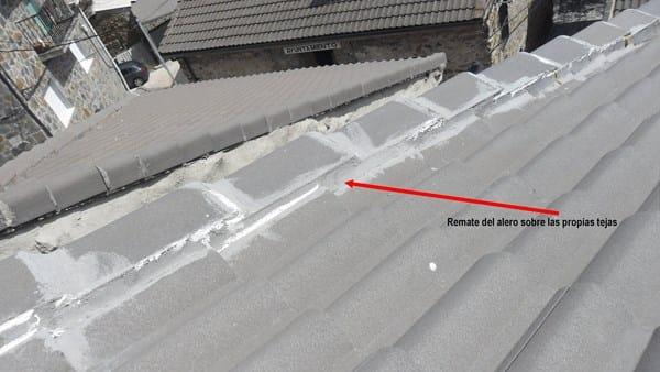 Caucho venda o tela asf ltica aluminio alba iler a for Tejados de madera con tela asfaltica