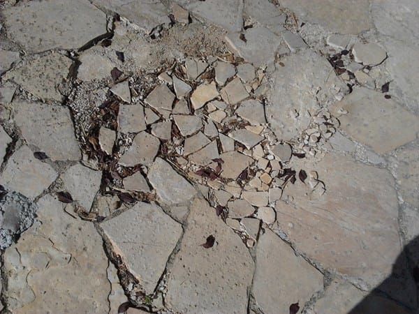 Qu material debo usar para un suelo de piedra tipo - Como hacer un suelo de hormigon ...