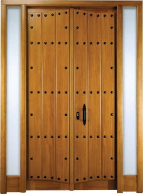 Restaurar puerta maciza exterior carpinter a for Como reciclar puertas de madera