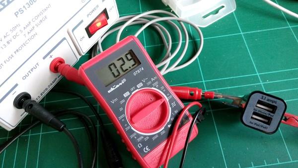 Cuanto consume un adaptador para usb de 12v ingenier a for Cuanto consume un deshumidificador
