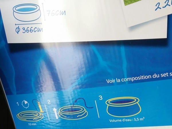 Cu nto cloro para una piscina de 366cm por 76cm for Cuantas tilapias por metro cubico