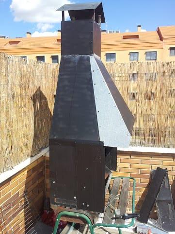 Problemas con chimenea barbacoa revoca el humo o no llega a subir casa y jard n - Hacer chimenea barbacoa ...