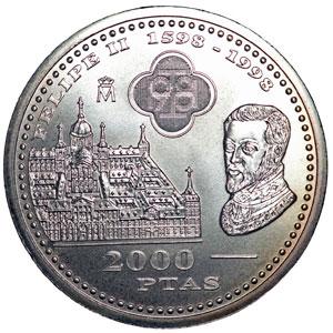 Quanto Vale Una Moneda De Plta De 2000 Pts Del Año 1998 Coleccionismo Todoexpertos Com