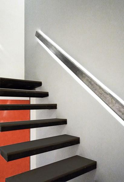 Como hacer escalera empotrada en muro Albailera Todoexpertoscom