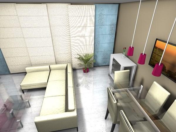 Redistribucion salon rectangular decoraci n - Decoracion salon rectangular ...