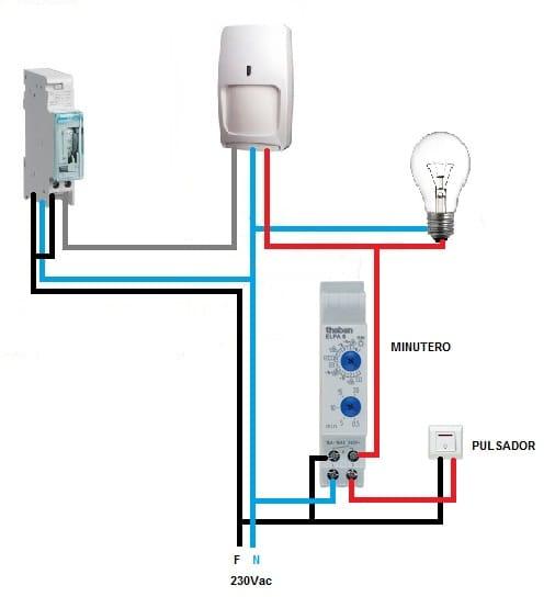 La luz se enciende con el sensor de forma intermitente - Detector de movimiento para luces ...