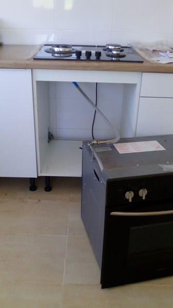 Instalaci n de gas de horno y placa fontaner a - Cocina de gas butano sin horno ...