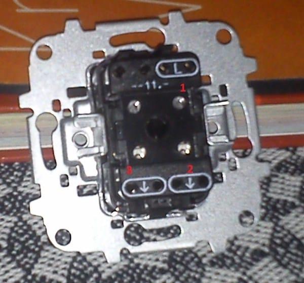 Cambiar conexi n el ctrica ventilador electricidad del - Interruptor de cruce ...