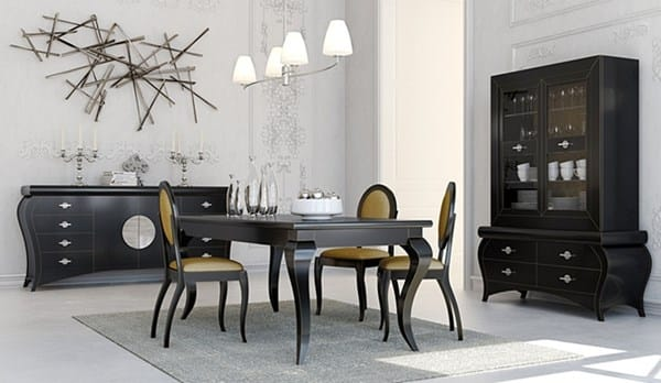 Decorar comedor con muebles wengue decoraci n for Sillas comedor amarillas
