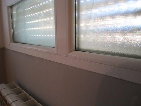Condensación en ventana de habitación - Albañilería - Todoexpertos.com