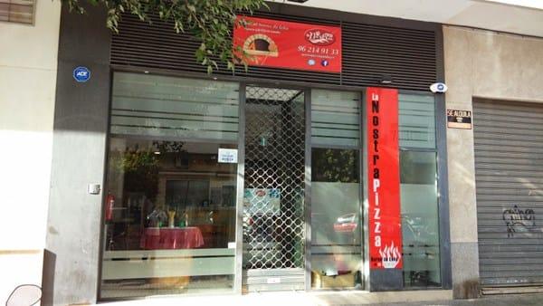 Imagen exterior pizzeria decoraci n for Decoracion pizzeria