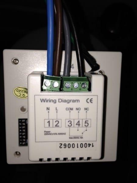 Problema al instalar cables de cronotermostato inal mbrico for Instrucciones caldera roca